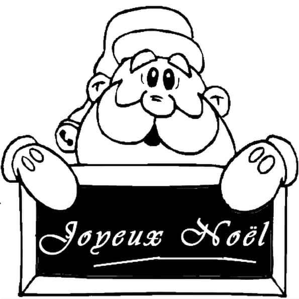 Joyeux no l coloriage joyeux no l en ligne gratuit a - Joyeux noel noir et blanc ...