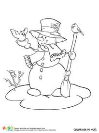 Un gentil bonhomme de neige