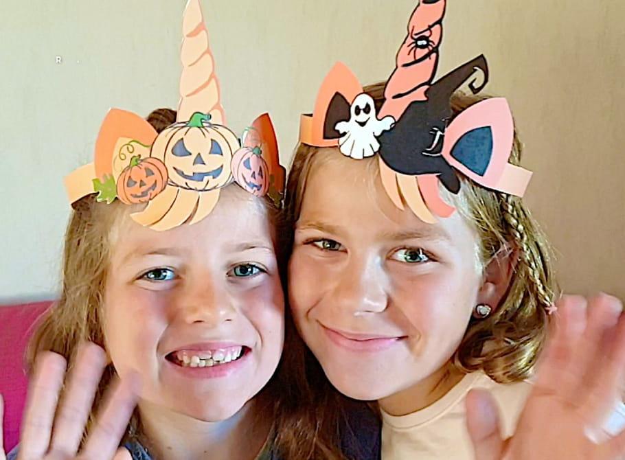 Tour de tête Licorne pour Halloween