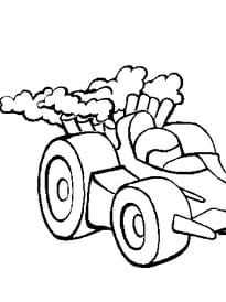 voiture course