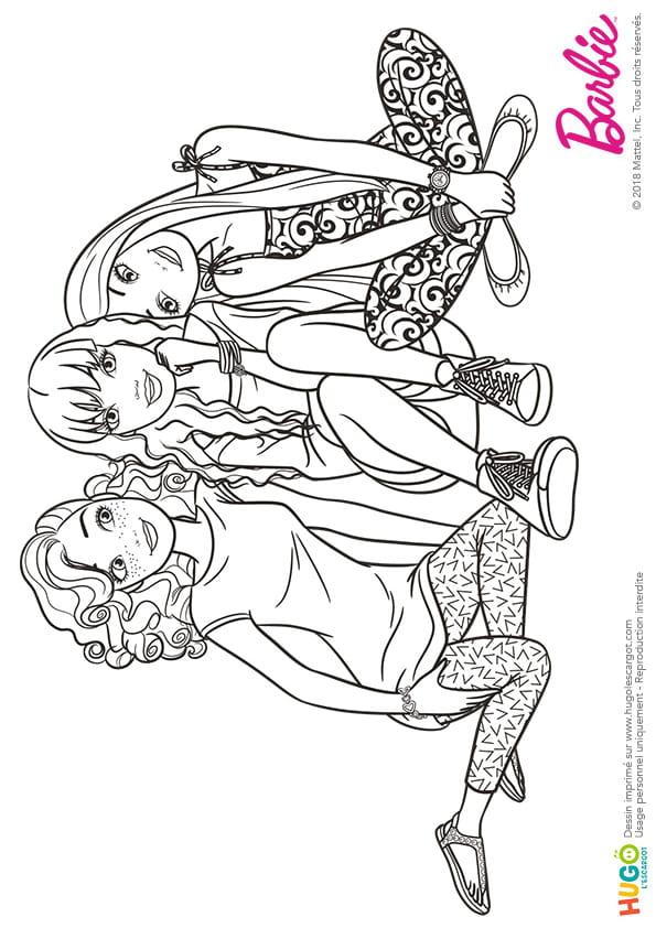 Barbie Fashionistas, un peu de repos