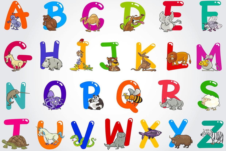 Coloriage alphabet animaux et oiseaux sur - Alphabet francais maternelle ...