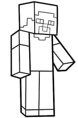 Steve personnage de Minecraft