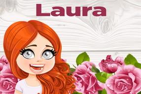 Laura : prénom de fille lettre L