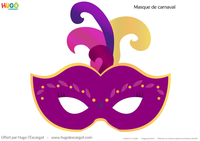kit masques de carnaval imprimer. Black Bedroom Furniture Sets. Home Design Ideas