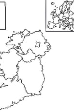 Coloriage carte Irlande