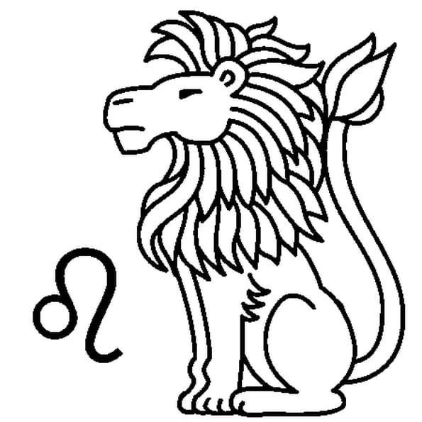 signe du lion coloriage signe du lion en ligne gratuit a imprimer sur coloriage tv. Black Bedroom Furniture Sets. Home Design Ideas