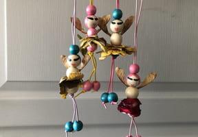 Fées d'Automne en perles [VIDEO]