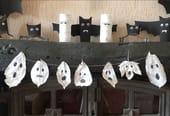 Fantômes Feuilles d'Halloween [VIDÉO]