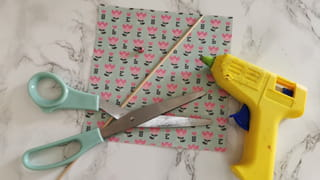 Matériel nécessaire pour créer une ombrelle en origami