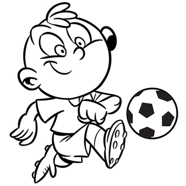coloriage activit enfant le football en ligne gratuit imprimer. Black Bedroom Furniture Sets. Home Design Ideas
