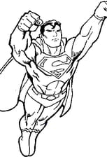 Coloriage superman 2