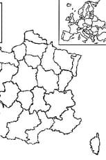 Coloriage carte France