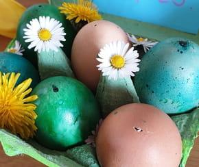 Œufs au chocolat surprise pour Pâques