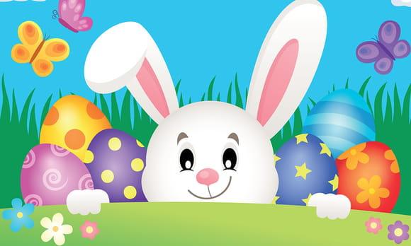Coloriage animaux de Pâques