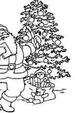 Père Noël Sapin