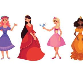 Les petites princesses du monde