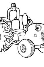Coloriage tracteur tom en Ligne Gratuit à imprimer