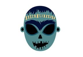 Masque de Frankenstein pour Halloween
