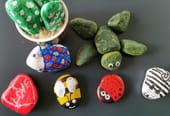Peinture sur galets: 7idées faciles pour les enfants
