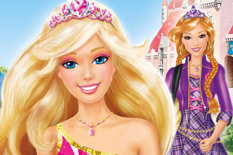 Coloriage barbie apprentie princesse sur - Coloriage princesse barbie ...