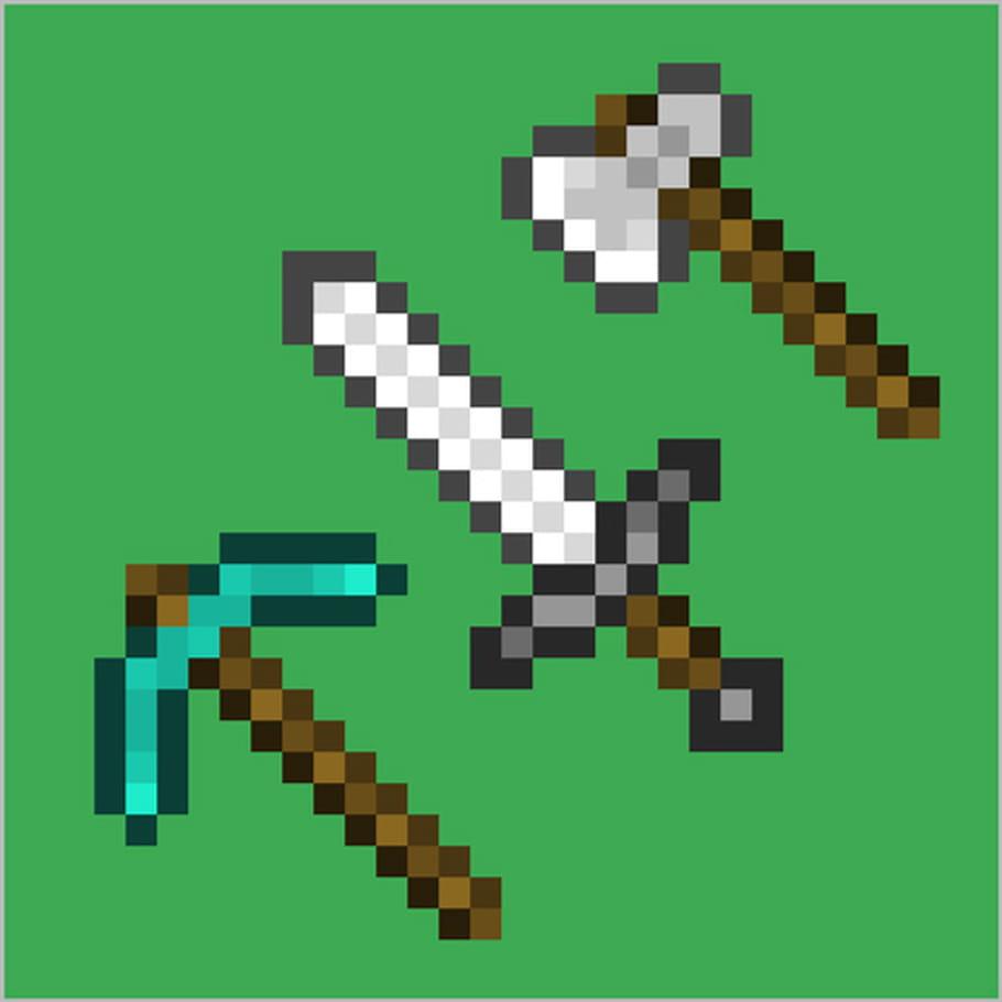 Minecraft En Pixel Art