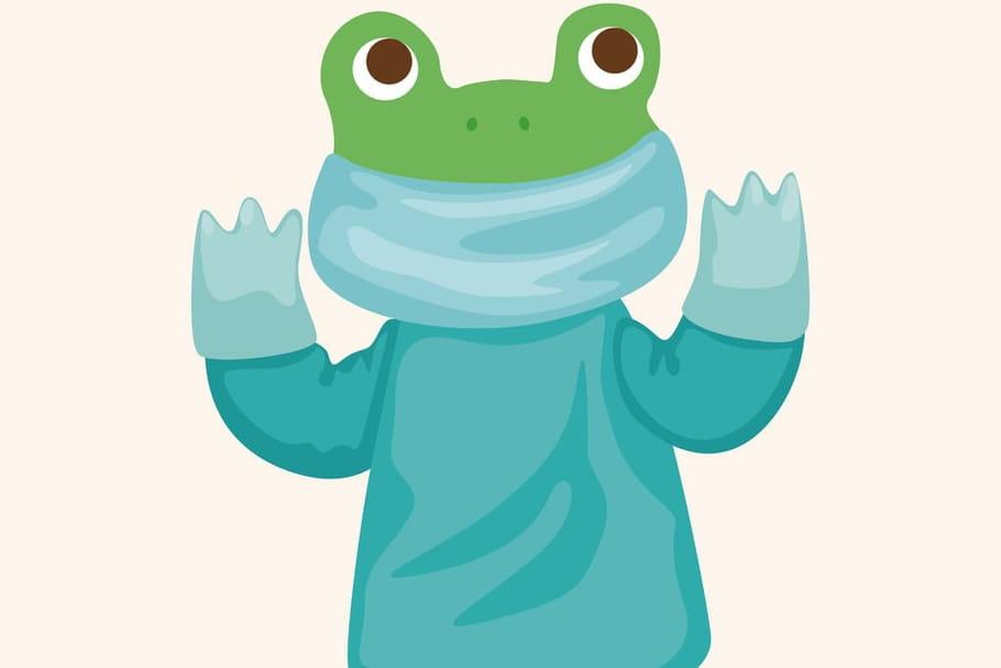 Comptine Une grenouille dans un bocal