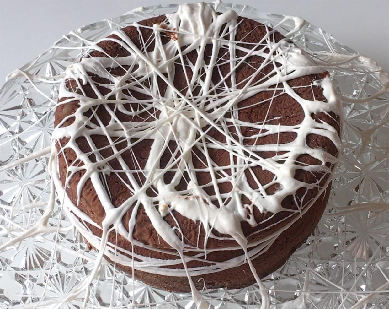 Gâteau Toile D Araignée Vidéo