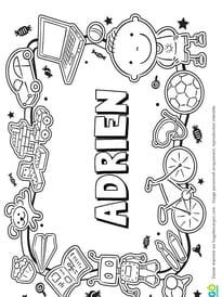 Adrien prénom de garçon version 3