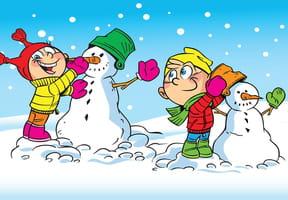 Coloriages bonhommes de neige