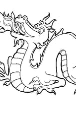 Coloriage Dragon de Feu
