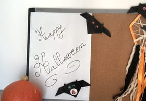 Chauve-souris Halloween en origami, pliage papier [VIDEO]