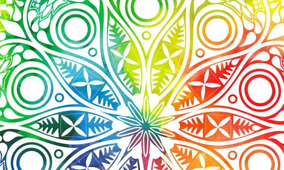 Coloriage Mandala Nature