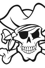 Coloriage Tête de mort Pirate