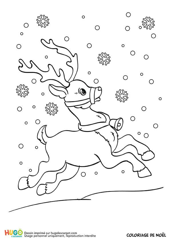 Rudolf le renne du père Noël est en retard