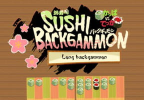 Jeu : Sushi Backgammon