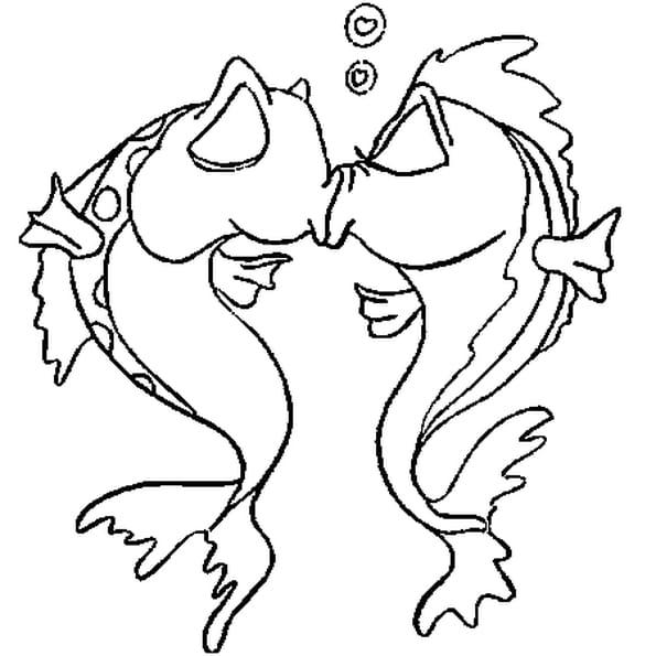 Coloriage amour en ligne gratuit imprimer - Dessin de coeur amoureux ...
