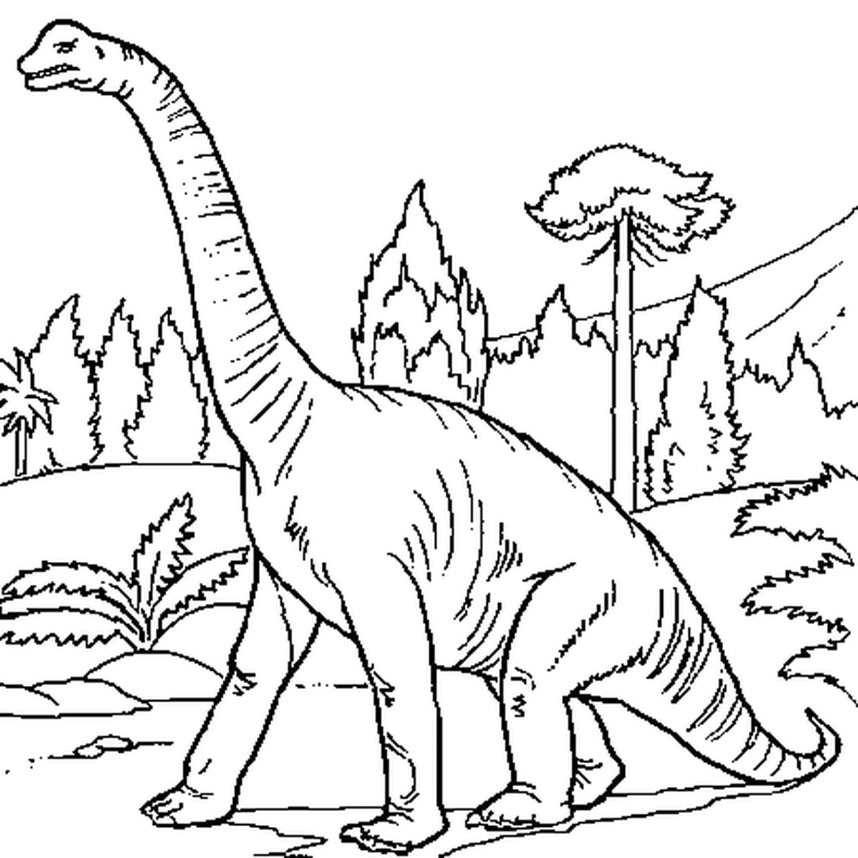 Coloriage Dinosaure Pas Content En Ligne Gratuit A Imprimer