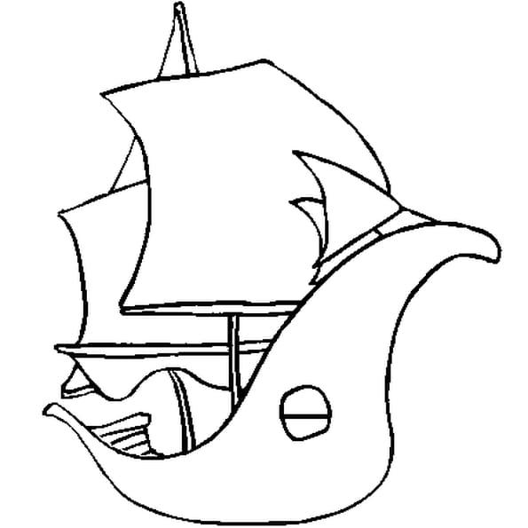 Coloriage bateau en ligne gratuit imprimer - Dessin petit bateau ...