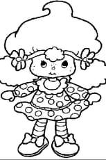 Coloriage poupée en Ligne Gratuit à imprimer