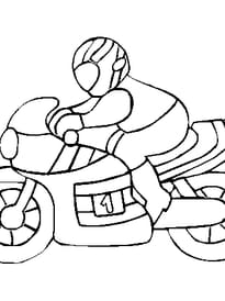 Coloriage Moto Cross Sur Hugolescargot Com