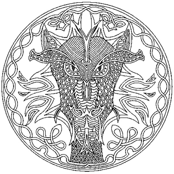 Mandala afrique coloriage mandala afrique en ligne - Imprimer coloriage mandala ...