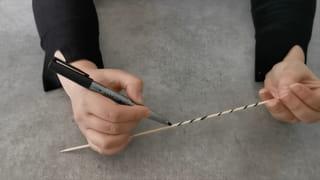 Étape 1: Fabriquez la baguette Mikado de 20points