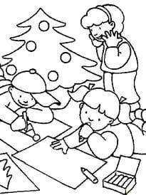 dessin de noël