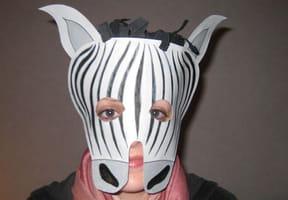 Masque Zèbre