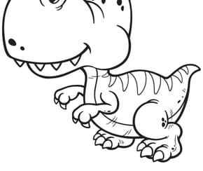 Dinosaure gentil