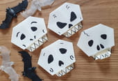 Squelette en origami, pliage papier [VIDEO]