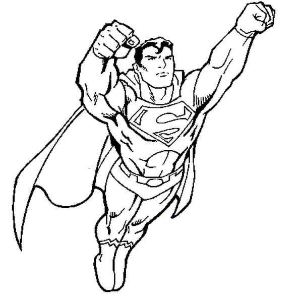 Coloriage superman 2 en ligne gratuit imprimer - Coloriage en ligne superman ...