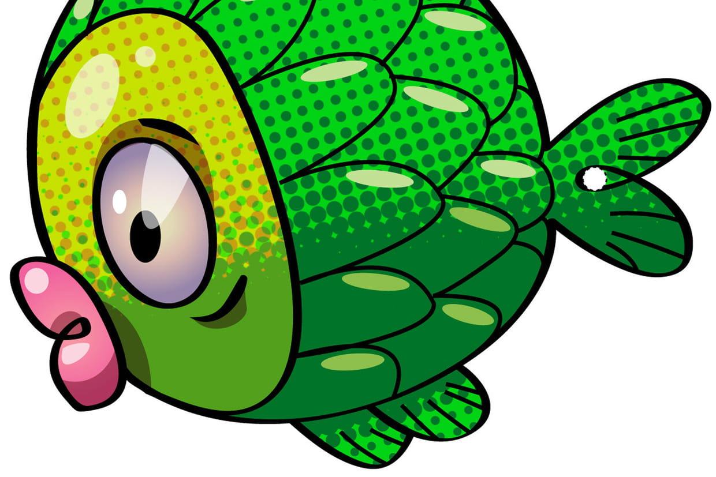 Coloriage poisson d 39 avril sur - Dessin poisson d avril rigolo ...