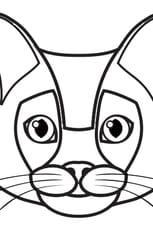 Coloriage Chat siamois en Ligne Gratuit à imprimer